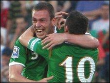 Republic of Ireland defender Richard Dunne