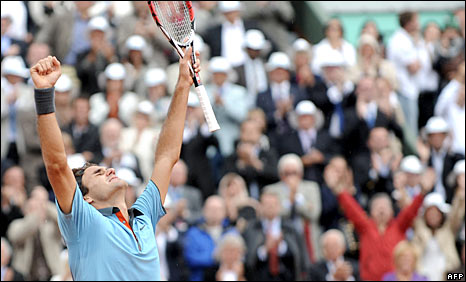 _45882314_feds_282 - Flawless Federer Storms To Historic First French Crown - Sports and Fitness