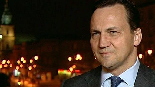 Polish foreign minister Radek Sikorski
