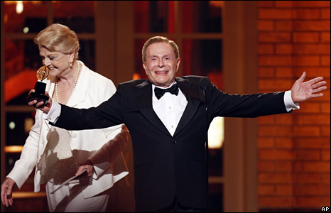 Angela Lansbury and Jerry Herman