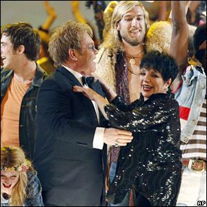 Sir David Elton and Liza Minnelli