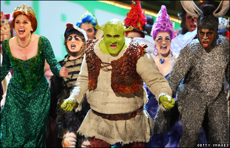 The cast of Shrek