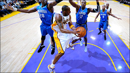 Kobe Bryant NBA Finals Star