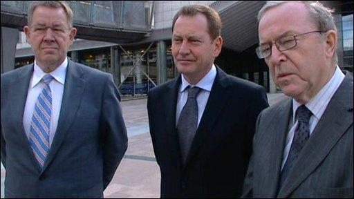 Pol Nyup Rasmussen, Graham Watson, Wilfried Martens