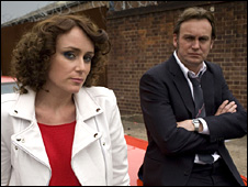 Keeley Hawes and Philip Glenister