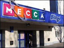 A Mecca bingo hall