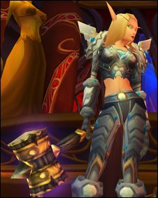 Blood Elf paladin,