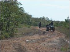 Road in Zimbabwe