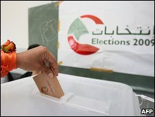 Polling station in northern city of Batroun