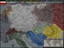Hearts of Iron III screen