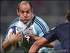 Hooker Mario Ledesma in action for Argentina