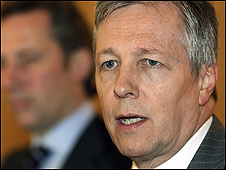 Peter Robinson said lessons had to be learned