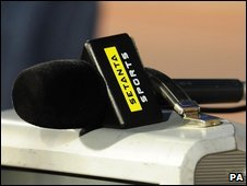 A Setanta microphone