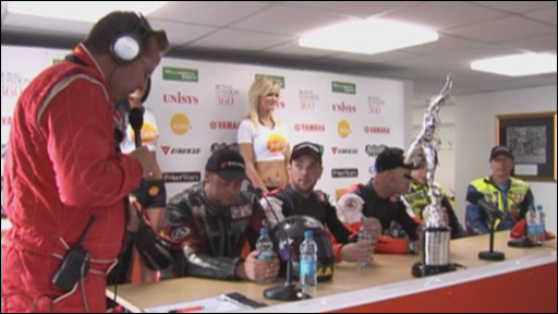 Sure Sidecar race 1 press conference
