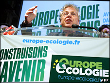 EU Green leader Daniel Cohn-Bendit (7 June 2009)