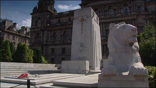 Cenotaph in Glasgow