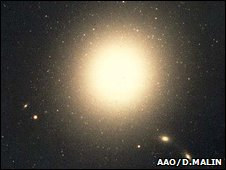 M87 (Anglo-Australian Observatory, photograph by David Malin)