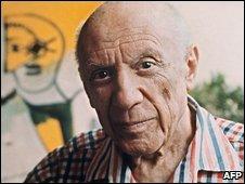 Pablo Picasso in 1971