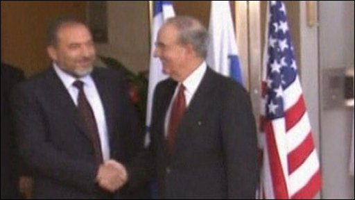 George Mitchell & Avigdor Lieberman