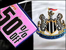 Newcastle shirt for sale