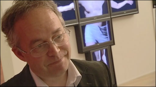 Michael Simpson, gallery head and dancing dad