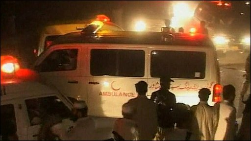 Ambulance in Peshawar