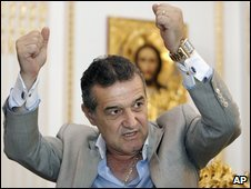 Gigi Becali after his election win