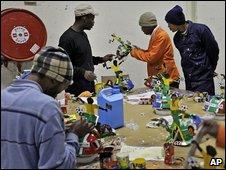 South Africa crafts workshop