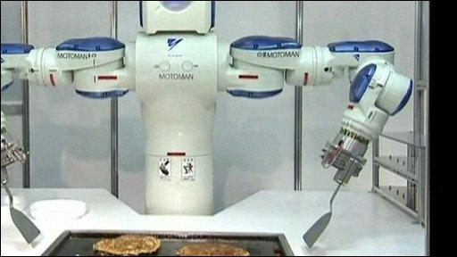 Pancake-making robot