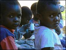 Orphans in Zimbabwe