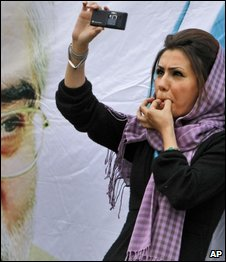 Support of Mir Hossein Mousavi