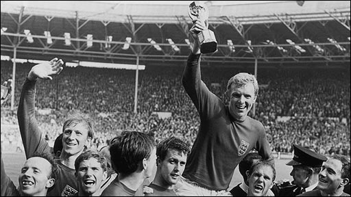 World Cup 1966 - England beat Germany in Wembley final