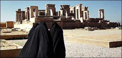 آثار تاريخية في إيران