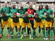 South Africa's national football team