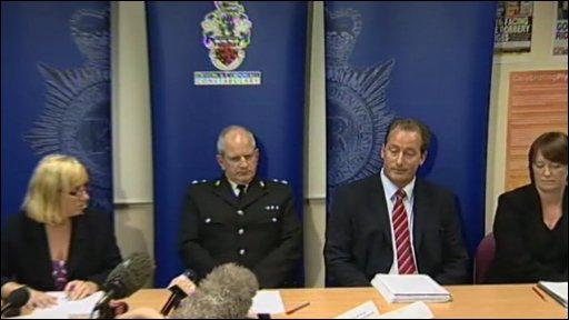 Police press conference