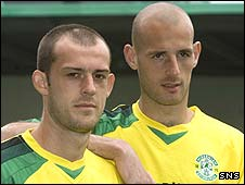 Steven Fletcher and Rob Jones