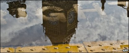 Reflection of Big Ben