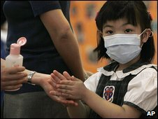 Hong Kong child given swine flu precautions