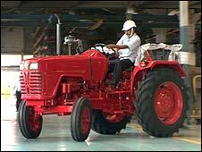Mahindra & Mahindra tractor
