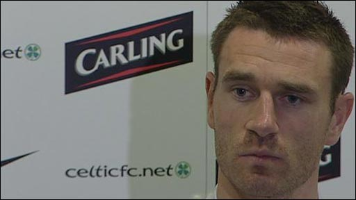 Celtic captain Stephen McManus
