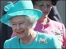 The Queen in Weymouth