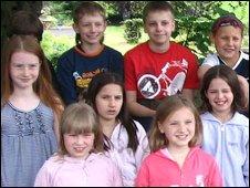 Children from Belarus visiting the UK