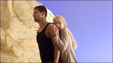 Helen Mirren as Phedre, Dominic Cooper as Hippolytus