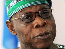 Former Nigerian President Olusegun Obasanjo