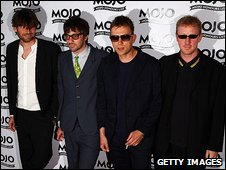 Blur at the Mojo Awards