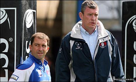 Bryan Redpath (left) and Dean Ryan