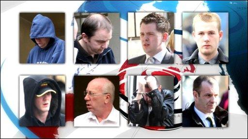Members of paedophile network