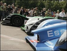 Practice ahead of the Le Mans 24 hours race
