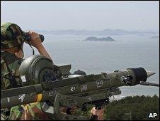South Korean troops, 12 June 2009