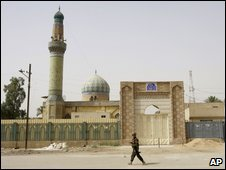 The mosque in Yarmouk, Baghdad